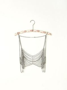 Free People Metal Chain Bra- sterling silver!