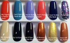 OPI Euro Centrale Nail Polish Collection Swatches!