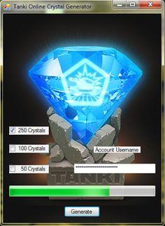 Download Tanki Online Crystal Generator at…