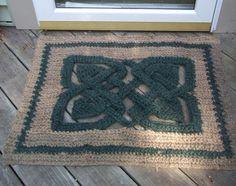 Melissa Horozewski--Celtic Rug (Crochet)