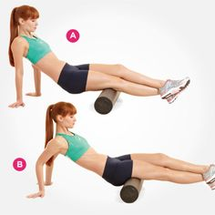 Hamstrings http://www.womenshealthmag.com/fitness/foam-roller-exercises/hamstrings