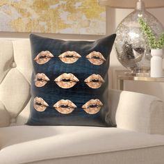 Thaxted Velvet Throw Pillow