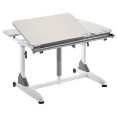 Kid 2 Youth Adjustable White Ergonomic Desk