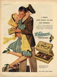 It's time for more great ads, so therefore we've gathered 20 Interesting Vintage Candy Ads for you. What will probably impress you is the huge time span. The oldest ad to feature here appeared before whereas the newest is from the Neverthe… Pub Vintage, Vintage Candy, Vintage Love, Vintage Signs, Vintage Prints, Retro Vintage, Old Advertisements, Retro Advertising, Retro Ads