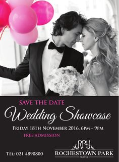 Come and walk the red carpet at our Wedding Showcase on Friday 18th November from 6-9pm.   Couples along with their family & friends will be greeted with a sparkle by our highly experienced wedding team. Come view our stunning Kiltegan Suite which will be set up and ready to welcome couples and their guests on their special day.   Come in and visualise your wedding day at the Rochestown Park Hotel.   Free admission for all guests. Free Admission, Park Hotel, Special Day, Save The Date, Our Wedding, Red Carpet, 18th, November, Sparkle