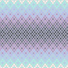 Glacier Mosaic - Eden by Tula Pink - Patchworkstoff mit Farbverlauf