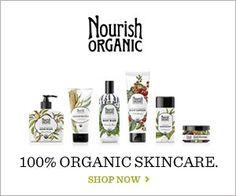 Nourish 100% Organic Skin Care