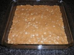 Love this recipe from blondeponytail. I've made it a couple times, it's a fabulous no bake 5 ingredient protien bar recipe.