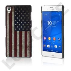 Persson (Vintage USA Flaggg) Sony Xperia Z3 Hard Deksel