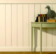 Fancy some English wooden panelling or wainscoting for your home? Click through to read the blog and learn about the different types and styles. And why not also come and sign up for our free resource library, or take our free e-course, to learn all about how to design and decorate your own home? http://www.TheHomeDesignSchool.com/signup