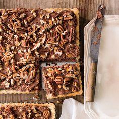 Chocolate-Pecan Mousse Tart - MyRecipes