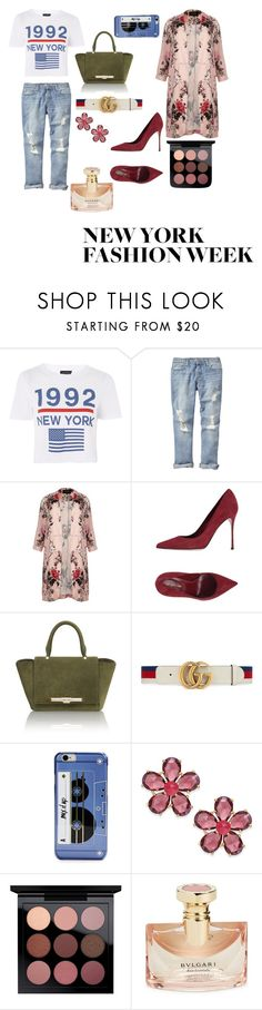 """ny baby"" by salsabillasy on Polyvore featuring Topshop, Gap, River Island, Sergio Rossi, Amanda Wakeley, Gucci, Kate Spade, Bulgari, StreetStyle and Newyork"