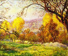 The Athenaeum - Landscape (Henri Lebasque - )