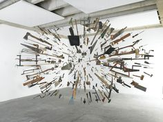 Disassembled: Jaw-dropping Art Installations by Damián Ortega   Inspiration Grid   Design Inspiration
