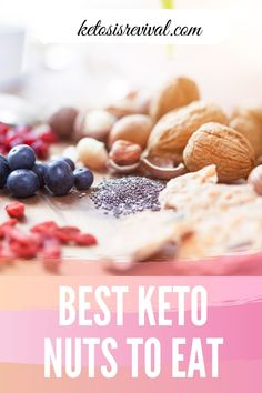 Find out the best keto nuts to eat when you're on a ketogenic diet. Nuts can be a great source of fats protein to snack on and help you maintain your macronutrient quota and percentages. Easy Snacks, Keto Snacks, Snack Recipes, Keto Foods, Food Processor Uses, Food Processor Recipes, Keto On The Go, Low Carb Meal Plan, Low Fat Diets