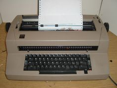 IBM Selectric III Typewriter and I have mine from 1980...still use it❤️❤️❤️