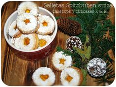 Galletas Spitzbuben suizas
