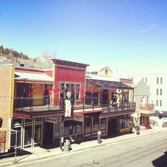 Main Street, Park City, Utah love park city shopping dinning love staying for our annniversary