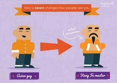 How beards change the way people see you #1 The Kung Fu Master  :)