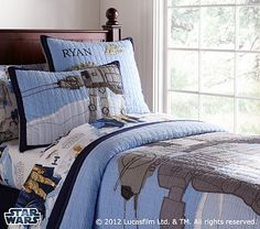 Star Wars™  AT-AT™ Quilted Bedding #PotteryBarnKids