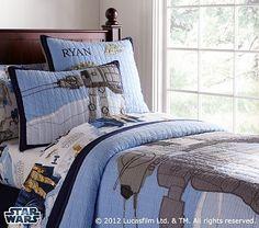 Pin by Alexandra Witzigreuter on Cameron Walker | Pinterest | Boy ... : star wars quilted bedding - Adamdwight.com