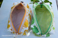 Come cucire i borselli squadrati - Cucire a Macchina