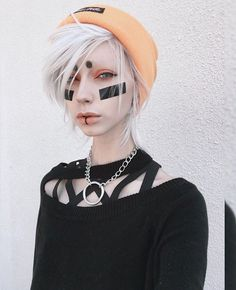 Try Something New With These Women Alternative Hair That Are Trending - Stylendesigns Cyberpunk Clothes, Cyberpunk Fashion, Cyberpunk Girl, Cyberpunk 2077, Jude Karda, Androgynous Fashion, Androgynous Haircut, Alternative Hair, Attractive People