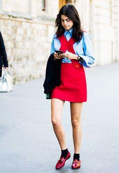 7 Color Pairings That Make Red Look Incredible via @WhoWhatWearUK