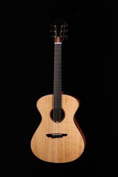Guitare de Gautier Gueguen, finissant 2016, École nationale de lutherie