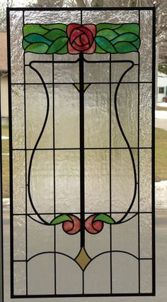 Vinery Glass stained glass window