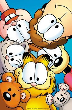 """Read """"Garfield Vol. by Jim Davis available from Rakuten Kobo. The latest collection of Garfield's return to comic books sends the gang into some wacky adventures, as Odie makes a new. Cartoon Posters, Cartoon Tv, Vintage Cartoon, Cartoon Shows, Cartoon Characters, Garfield Cartoon, Garfield And Odie, Garfield Comics, Wallpaper Iphone Cute"""