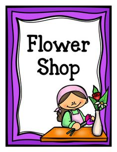 Let your little ones learn through playing with this fun pretend play flower shop pack. Color and black and white versions both included.Pages Included:-Flower Shop Sign-Order Form-Flower Prices Sign-Open and Closed Signs-Flower Shop Notes-Flower Gift Tags-Customer Receipts-Flower Shop Banner