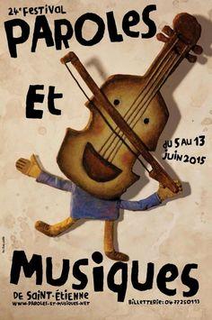 24e Festival Paroles et Musiques, Saint-Etienne (42000), Rhône-Alpes