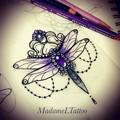 Dragonfly doodles ✨