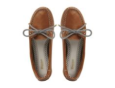 DUNE LADIES LAUTICAL - Leather Lace Up Boat Shoe - tan | Dune Shoes Online