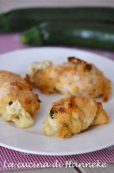 involtini di pollo al forno Con zucchine