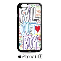 Fall Out Boy Art A iPhone 6S  Case