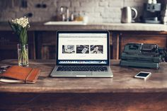 Retro workspace - photo by show it better on Creative Market