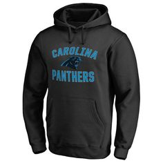 Carolina Panthers Pro Line Victory Arch Pullover Hoodie - Black - $59.99