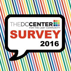 Fill out our annual survey and help us improve our programs & services:#DC #LGBThttp://tinyurl.com/centersurvey16