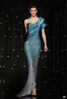 "Jean Fares ""Breeze Me""...Change the color & add embellishments & you have a one of a kind wedding gown that makes a statement."