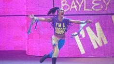... ¡La Superestrella NXT Bayley!