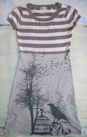 Refashion Co-op: Teeshirts Make a Tee Dress