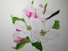 Apple blossom - Anna Mason Tutorial