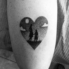 #tattoo #instatattoo #dotwork #black #blackwork #smalltattoo #daughter #mother #hija #madre #sametattoo #love #life #enjoy #manitatuz #plazaredonda #valencia #vlc #tattoostudio #tattooshop #callederechos #tatuaje #tinta #ink #heart #corazón #puntillismo #instaink #instapic…