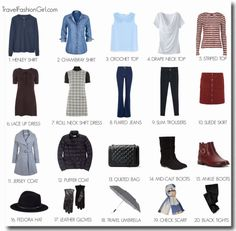 What to Wear in Ireland: Dublin in autumn Packing List: For autumn you want to ensure you are kept warm and dry, bring a warm jacket to protect you from the wind-chill and a trench coat for added warmth.