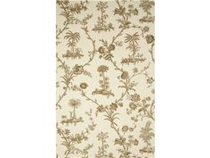 Brunschwig & Fils WEST INDIES TOILE TAUPE BR-69118.073 - Brunschwig & Fils - Bethpage, NY, BR-69118.073,Brunschwig & Fils,Print,Beige,Up The Bolt,Botanical/Foliage,USA,Yes,Brunschwig & Fils,WEST INDIES TOILE TAUPE