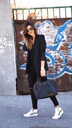 $54 Women's Vans Sk8-Hi Slim Sneaker $289 Karissa Blazer - Black $185 Frame Denim Le Skinny de Jeanne mid-rise jeans