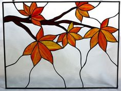 Things I like: Beautiful Orange Stained Glass | Shattered by Light