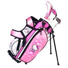 Hello Kitty Golf Junior Set (3-5) - I LOVE THIS!!!  I wish it was for ages 5-8!